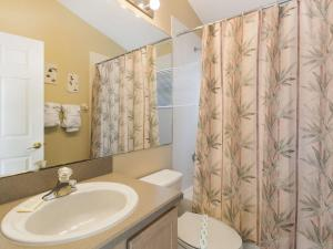 A bathroom at Indian Creek by Florida Star Vacations