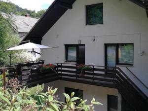 Balkon oz. terasa v nastanitvi Apartment KLEMEN
