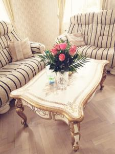 Posezení v ubytování Apartment Luxury Nostalgia