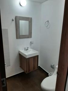 A bathroom at Apartach