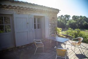 Terrasse ou espace extérieur de l'établissement Domaine Les Perpetus