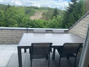 A balcony or terrace at Terrasses de Malmedy Connecto Duplex 435 & 436