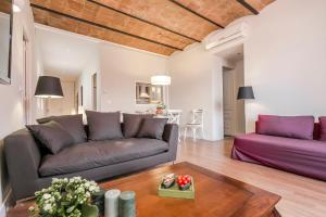 منطقة جلوس في Bcn Paseo De Gracia Rocamora Apartment