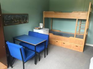 A bunk bed or bunk beds in a room at Ardentinny Centre