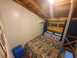 A bed or beds in a room at Morada Vó Rita