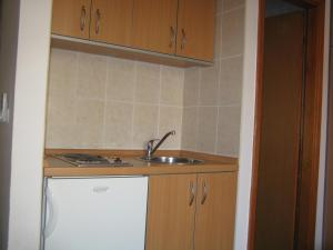 A kitchen or kitchenette at Studios Timing