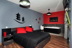 Krevet ili kreveti u jedinici u objektu Apartamentos Turísticos Cáceres Medieval