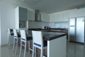 A kitchen or kitchenette at Sansuri Phuket