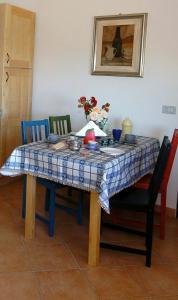 Ein Sitzbereich in der Unterkunft Acero Appartamenti