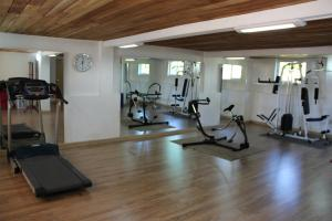 The fitness center and/or fitness facilities at The Hill Club