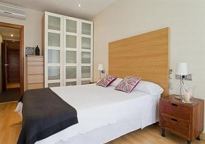 Tempat tidur dalam kamar di Livingstone
