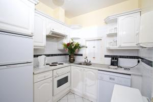 A kitchen or kitchenette at Oliver St. John Gogarty's Penthouse Apartments