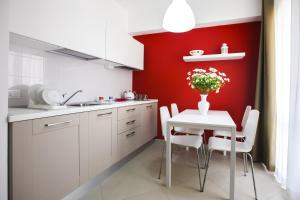 Cuisine ou kitchenette dans l'établissement Finestre d'Occidente