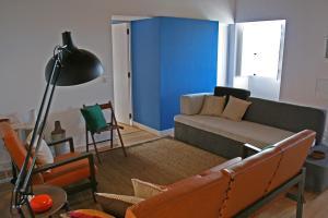Uma área de estar em Casa de Almagreira