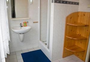 Koupelna v ubytování Penzion Jarmilka