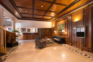 The lobby or reception area at Le Jean-Sébastien Bach