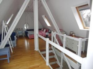 A bunk bed or bunk beds in a room at Villa Giulia