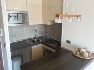 Una cocina o zona de cocina en Santa Rosa Suites