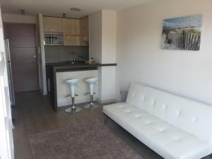 Zona de estar de Santa Rosa Suites