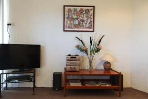 A television and/or entertainment center at Northgate House Apartment