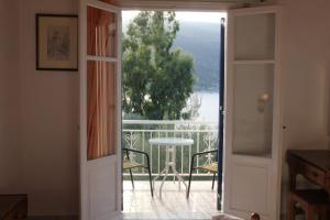 Balcon ou terrasse dans l'établissement Theodora Studios