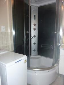 Koupelna v ubytování Apartment Karlovy Vary