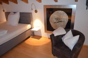 Ein Bett oder Betten in einem Zimmer der Unterkunft Prinz City Apartments