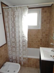 Un baño de Departamento Mariano Moreno