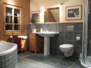 A bathroom at Lehmlounge