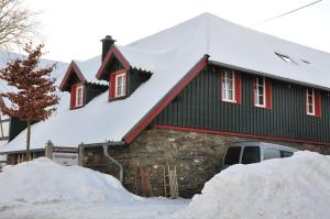 Lehmlounge during the winter