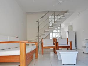 A bunk bed or bunk beds in a room at Residencial Mont Hebron - Tonziro