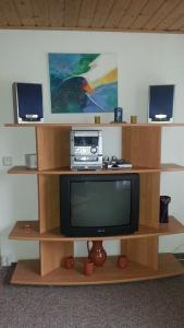 TV/Unterhaltungsangebot in der Unterkunft Ferienwohnung Steinbacher