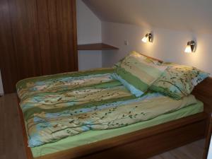 Postelja oz. postelje v sobi nastanitve Apartment Knap