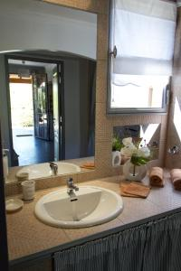 A bathroom at Residence Melody