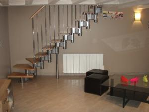 A seating area at Loft Du Pecheur