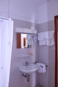A bathroom at Michael Apartments