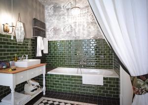 Ванная комната в Gorki Apartments