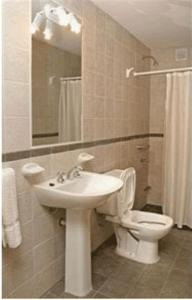A bathroom at Wilson Apart Hotel