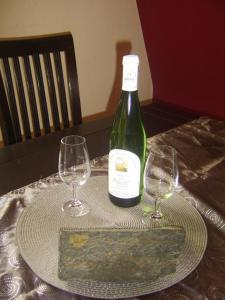 Getränke in der Unterkunft Weingut Matthias Dauns