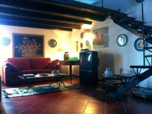 Area soggiorno di Villa Zingaro