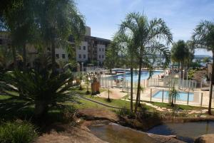 A view of the pool at Flat Life Resort or nearby