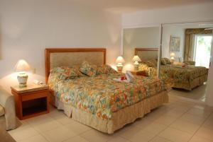 Llit o llits en una habitació de Bahia del Sol