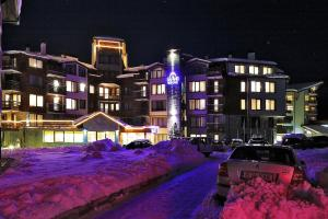 Grand Montana Hotel during the winter