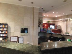 The lobby or reception area at Vidda y Viken