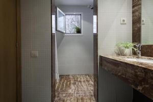 A bathroom at SuperLoft Barcelona Center