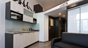 Kuchnia lub aneks kuchenny w obiekcie Rock Star Apartment