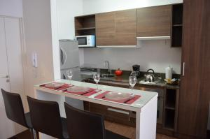 A kitchen or kitchenette at Vive Apart Buenos Aires