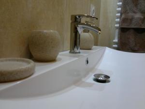 Salle de bains dans l'établissement Gîte Clos la Cerisaie