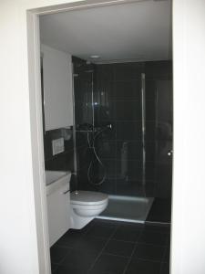Ein Badezimmer in der Unterkunft Ferienhaus Bijou