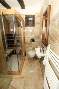 A bathroom at Horske Domy